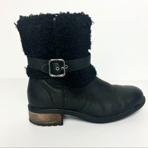 UGG Black Boots Size 6